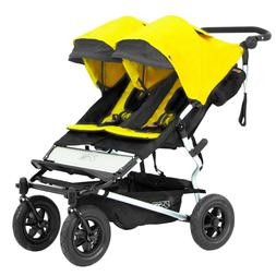 Mountain Buggy 2016 Evolution Duet Double Stroller Cyber w/