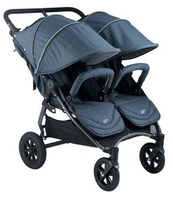 Valco NEO Twin Stroller in Denim Tailormade Fabric Brand New