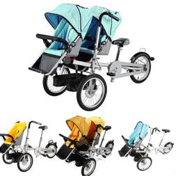 """3in1 16"""" Portble Bicycle Baby Bike Stroller Pushchair Carrie"""