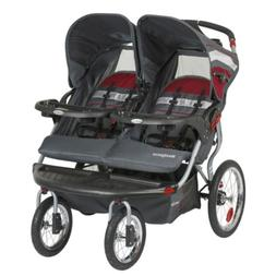 Baby Trend Navigator Double Jogger Stroller, Baltic