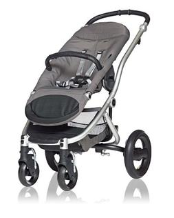 Britax Affinity Complete Stroller - Sky Blue - Silver
