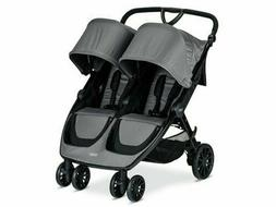Britax B-Lively Double Stroller Color: Dove - BRAND NEW