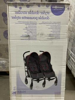 BabiesRus Styler Double Stroller CLEARANCE  Safety Harness R