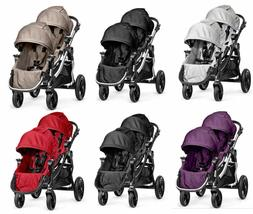 Baby Jogger 2017 City Select Double Stroller Pram w/2nd Seat
