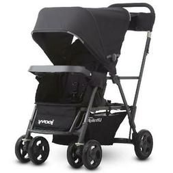 Joovy Caboose Ultralight Sit and Stand Double Stroller, Blac