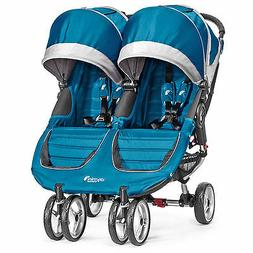 Baby Jogger City Mini Double Child Stroller Teal
