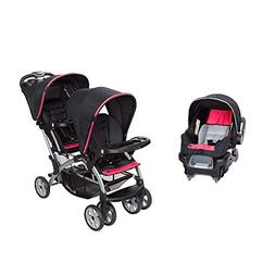 Baby Trend Double Sit N' Stand Stroller System and Travel Ca