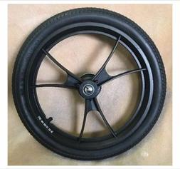 Double Baby Jogger Summit X3 Stroller Rear Wheel Black Parts