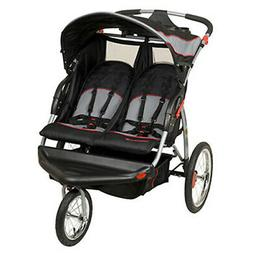 Baby Trend Expedition Swivel Travel Jogging Double Baby Stro