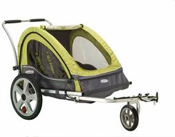 In Step Sierra Foldable Double Bicycle Trailers/Stroller -Gr