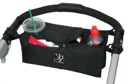 J.L. Childress Sip n Safe Console Tray, Black
