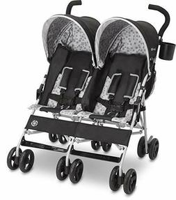 Jeep Scout Double Stroller, Lightweight and Parent cup holde