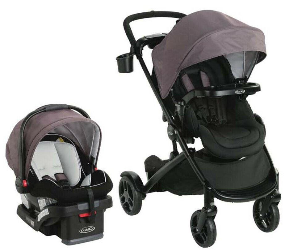 Graco Baby Modes2Grow Bassinet Travel System Stroller w/ Inf