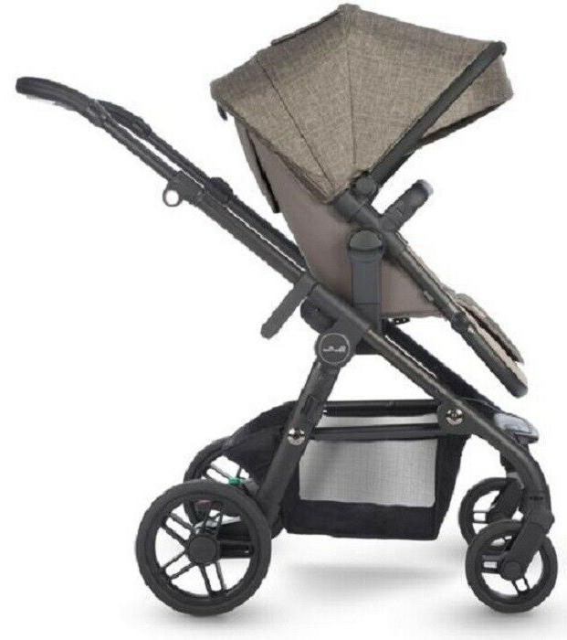 Silver Cross Coast to Double Baby Stroller Bassinet Tundra