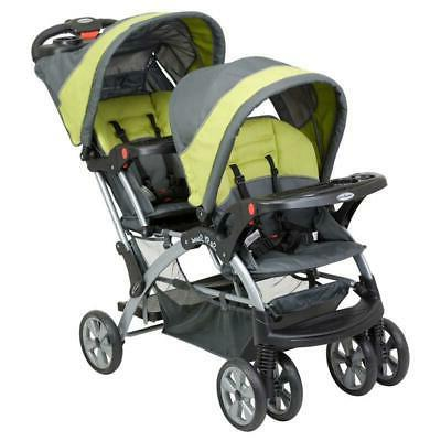 Baby Double Travel Cup Sit N Stand Folding