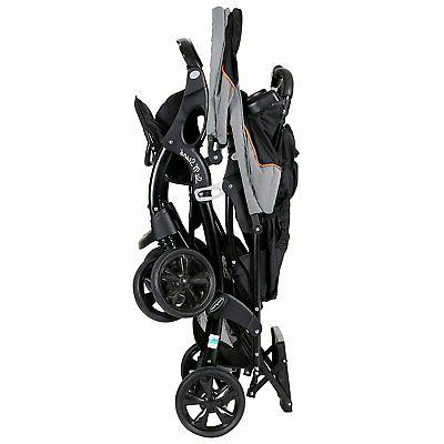 Baby Double Travel System Cup Sit Stand Toddler