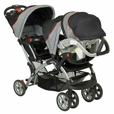 Double Stroller Seat Carrier