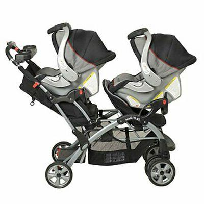 Double Stroller City Tandem Seat Carrier