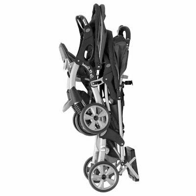 Double Baby Stroller City Tandem Infant Seat Travel Carriage