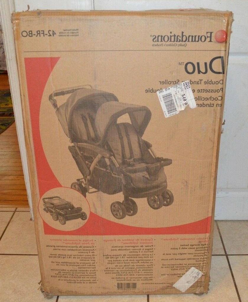 Foundations Double Tandem Stroller,