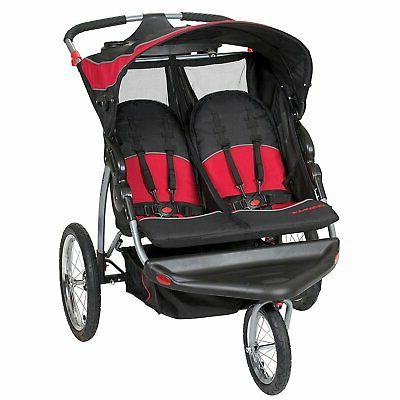 expedition lightweight jogging double baby stroller centenni