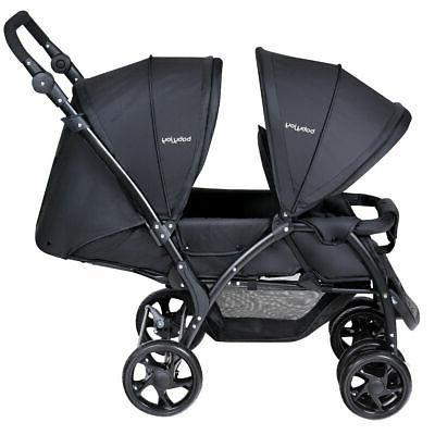 Foldable Twin Baby Double Stroller Lightweight Stroller Infant