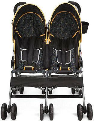 Foldable Twin Baby Stroller Infant