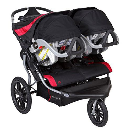 Baby Double Jogger Apple