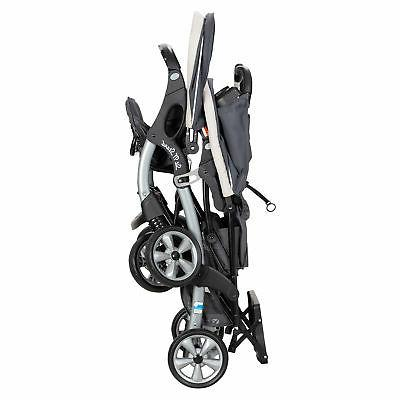 Baby Stand Stroller 2 Infant Car Seats Combo,