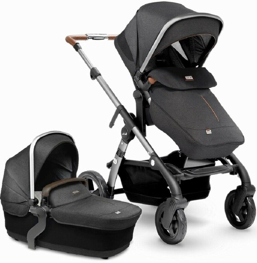 wave single to double pram system baby