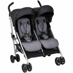 Evenflo Minno Twin Lightweight Double Stroller Oversized Can