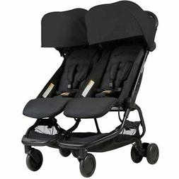 Mountain Buggy Nano DUO Double Stroller In Black Brand New!!