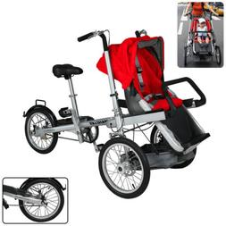 New Baby Car 3 in 1 Safety Stroller Bike Seat and Folding wi
