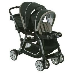 NEW Graco Ready2Grow Click Connect Double Baby Stroller - Pi