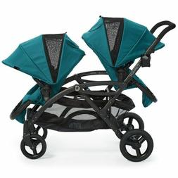 Contours Options Elite Tandem Stroller, Aruba Teal - Free Sh