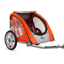 Instep Robin Two Seat Portable Bike Trailer for Children or