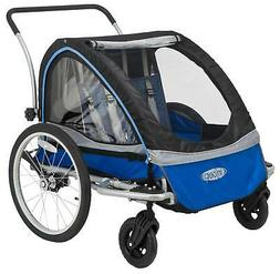 InStep Rocket 11 Double Child Carrier Bicycle Trailer, 2-Pas
