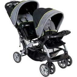 Baby Trend Sit N Stand Double Stroller, Pistachio