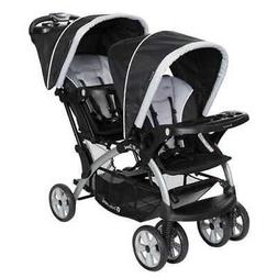 Baby Trend Sit-N-Stand Twin Tandem 2-Seat Double Stroller, S