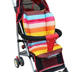 Baby Stroller Cushion Padding Liner Carriage Umbrella Cart T