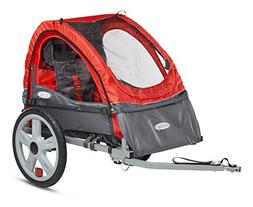 Instep Sync Single Bicycle Trailer, Red